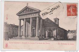 78 Saint-Germain-en-Laye - Cpa / Eglise Renfermant Le Mausolée De Jacques II. - St. Germain En Laye