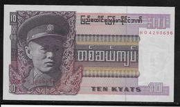 Birmanie -  10 Kyats - Pick N°58 - Neuf - Banknotes
