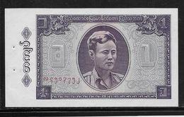 Birmanie -  1 Kyat - Pick N°52 - SUP - Banknotes