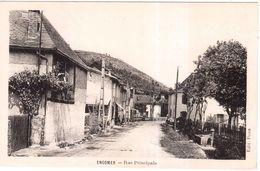CPA ARIEGE.ENGOMER.RUE PRINCIPALE - Francia