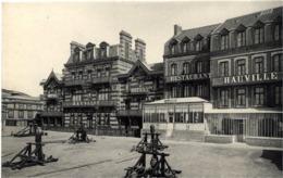 76 ETRETAT - Hôtel Hauville - E.F. N° 71 - Cabestans - TB état - Etretat