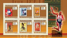 GUINEA 2009 - Canoe Slalom On Stamp - YT 4486-91; CV = 15 € - Rafting