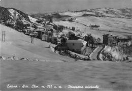 Cartolina Loiano Panorama Invernale 1957 - Bologna