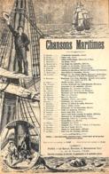 La Légende Du Matelot. Marine, Partition Ancienne, Petit Format, Couverture Illustrée Boutillié. - Partitions Musicales Anciennes