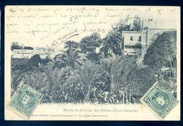 Cpa Espagne Islas Canarias Iles Canaries Huerta De Platanos Las Palmas Gran Canaria  MARS18-12 - La Palma