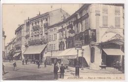 Angoulême, Place De L'Hotel De Ville N° 55 - Angouleme