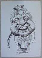 "Mário Soares  ""20 Anos De Democracia Satírica"" - Desenho De: Rui - L919 - Portugal"