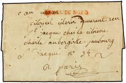 """1794. CARTA COMPLETA SIN ORIGEN A PARIS. FRANCIA. FRANCE. MARCA """"ARMÉE DU NORD"""" EN ROJO. - Marcophilie (Lettres)"""