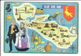 CP N° 4 - Les Départements Français Vus Par Iris : ILE DE RE - Ile De Ré