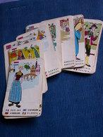 JEU DE 26 CARTES ANCIENNES Sur Les Pays - Group Games, Parlour Games