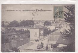 Ruffec Vue Générale Prise De La Route De Confolens N° 1514 - Ruffec