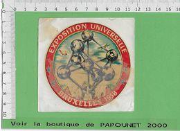 000534-A.C.-A.C.-O.S.-EXPO 58 - Obj. 'Souvenir De'