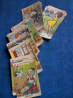 JEU DE 42 Cartes Les 7 Familles - Ancien - Complet - Group Games, Parlour Games
