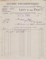75 18 958 PARIS SEINE 1908 Edition Photomecanique L. L. Photos Photo LEVY ET SES FILS Rue Letellier STEREOSCOPIE CARTE - France