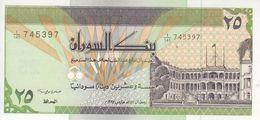 SUDAN 25 DINARS 1992 P-53b UNC */* - Soedan