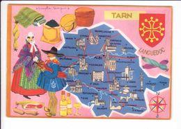 CP N° 4 - Les Départements Français Vus Par Iris : TARN - France