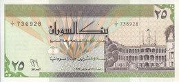 SUDAN 25 DINARS 1992 P-53a AU-UNC */* - Soedan