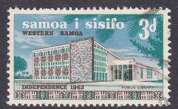Samoa SG 258 1965 Independence Kawa Bowl Watermark Three Pence, Used - Samoa