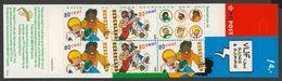 Nederland Netherlands Pays Bas 2000 Mi 1819 + 1820 - MH61 ** Sjors And Sjimmie- Comic Strip Characters By Frans Piet - Heftchen Und Rollen
