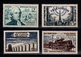 1955 YV 1021 à 1024 N** Cote 6,10 Eur - Unused Stamps