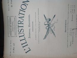 L'ILLUSTRATION N° 3811 Du 18 MARS 1916 - Newspapers