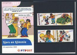 Nederland Netherlands Pays Bas 2000 Mi 1817 /0 ** Sjors + Sjimmie- Comic Strip Characters By V.d. Kroft, Pijnaar,van Die - Comics
