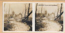 008 - GUERRE 1914-1918 - BELGIQUE - NIEUPORT - Ruines De La Sardinerie - Nieuwpoort