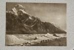 Kyrgyzstan. Tian Shan Mountains. Petrovskij Pik And Inylchek Glacier - Old USSR Postcard 1956 - Mountaineering - Kyrgyzstan