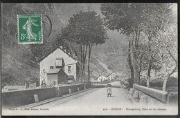 CPA 38 - Oisans, Rioupéroux - Pont Sur Le Ruisseau - Bourg-d'Oisans