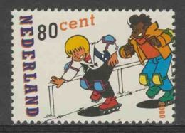 Nederland Netherlands Pays Bas 2000 Mi 1817 ** Roller Skating / Skates – Sjors And Sjimmie - Comic Strip Characters - Skateboard