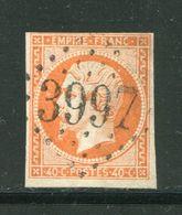 Y&T N°16- Gros Chiffre 3997 - 1853-1860 Napoleone III