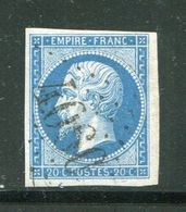 Y&T N°14B- Gros Chiffre 4060 - 1853-1860 Napoleon III