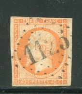 Y&T N°16- Gros Chiffre 1125 - Storia Postale (Francobolli Sciolti)