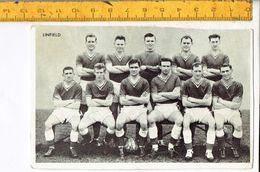 45522  - FOOTBALLERS - LINFIELD - Trading Cards