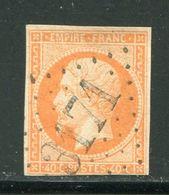 Y&T N°16- Gros Chiffre 3171 - Marcophilie (Timbres Détachés)