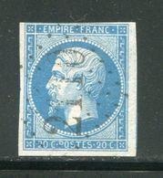 Y&T N°14B- Gros Chiffre 2110 - 1849-1876: Classic Period