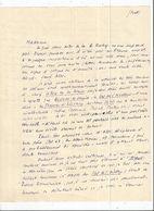 LUCIEN( SIMEON) FABRE (PAMPELONNE( 81)1889  PARIS 1952) INDUSTRIEL ET ECRIVAIN PRESTIGIEUX LAUREAT PRIX GONCOURT L A S - Autographes