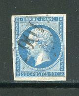 Y&T N°14B- Gros Chiffre 100 - 1853-1860 Napoleone III