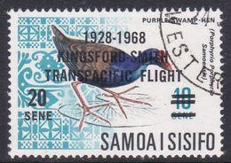 Samoa SG 305 1968 40th Anniversary Of Kingsford Smith Flight, Used - Samoa