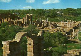 Libya/Libia/Libye - Leptis Magna - Via Yugoslavia.nice Stamp -  1965 World Meteorological Day - Libya