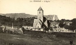 76 ETRETAT - L'Eglise (et Le Cimetière) - N° 771 MTIL - Etretat