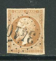 Y&T N°13B- Gros Chiffre 3410 - Marcofilie (losse Zegels)