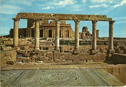 Libya/Libia/Libye - Roman Ruine - Via Yugoslavia.nice Stamp - 1970 The 25th Anniversary Of Arab League - Libya