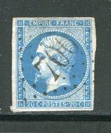 Y&T N°14B- Gros Chiffre 700 - Storia Postale (Francobolli Sciolti)