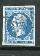 Y&T N°14B- Gros Chiffre 3112 - Storia Postale (Francobolli Sciolti)