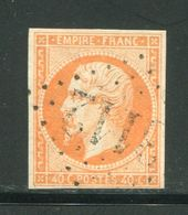 Y&T N°16- Gros Chiffre 3112 - 1853-1860 Napoleon III