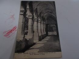 B683  Fondi Caserta Porticato Chiostro San Francesco Cm13,5x8,5 Viaggiata - Italia