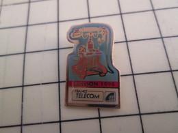 PIN117 Pin's Pins / Rare Et Beau FRANCE TELECOM : TELEPHONE DE MARQUE ERICSSON 1894 - France Telecom