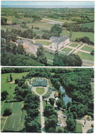 35. Gf. LA GOUESNIERE. Domaine De Bonaban. 2 Cartes - Autres Communes