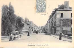 91 - ESSONNES : Entrée De La Ville ( Animation - Enseigne Bureau De Tabac ) - CPA - Essonne - Essonnes